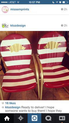 Razorback chairs