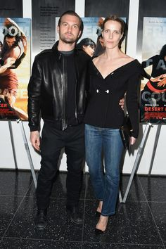 """Max Snow (L) and Vanessa Traina attend the special screening of Relativity Studio's """"Desert Dancer"""" at Museum of Modern Art on April 7, 2015 in New York City."""