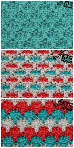 Crochet: Trail Stitch Tutorial   KT and the Squid