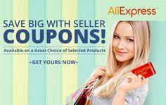 Cupones descuento de hasta 50€ en toda la web de AliExpress