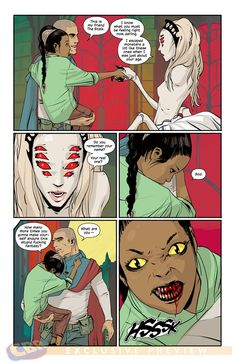 Saga #9. Art by Fiona Staples.
