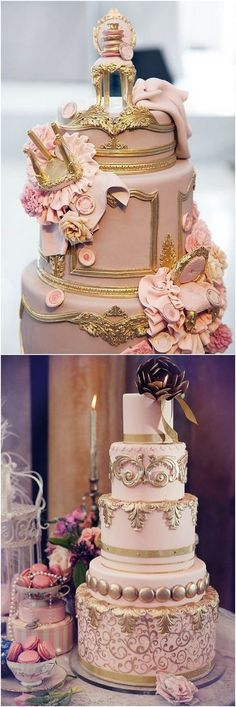 baroque wedding cake Spring cake decorating ideas