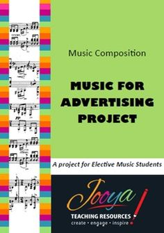 Music for Advertising ProjectThanks for downloading one of my products and I hope your students enjoy this as much as mine have!I have used this project with my Year 9 Elective Music            students for a number of years with great success and high completion rates.