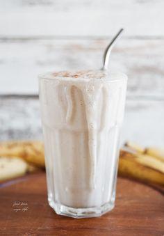Vegan Bananenmilchshake mit Tahini