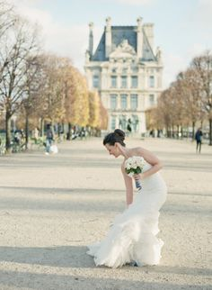 Paris Wedding from Polly Alexandre + Fête in France - Style Me Pretty