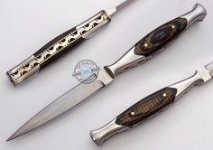 """8.50"""" Custom Made D2 Hard Tool steel Letter Opener Dagger Knife (FSL-082-56) #UltimateWarrior"""