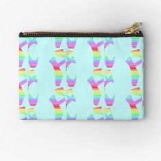 Pointe Shoes, Makeup Bags, Gifts For Family, Zipper Pouch, Chiffon Tops, Coin Purse, Ballet, Rainbow, Art Prints