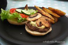 Cecilie i forstaden: Hjemmelagde hamburgere, hjemmelagd tilbehør
