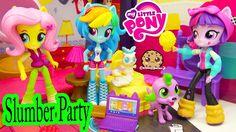 My Little Pony Equestria Girls Minis Dolls MLP Slumber Party - Cookieswi...