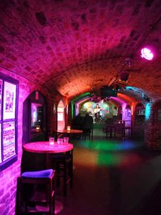 The Cavern Club in Liverpool, England. where Brian Epstein discovered the Beatles