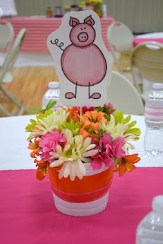 Relief Society Activity - This Little Piggy Ladies spoke on each section of the nursery rhyme...CUTE!