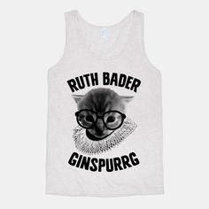 Ruth Bader Ginspurrg #cats #rbg #ruthbaderginsburg #puns #kitten