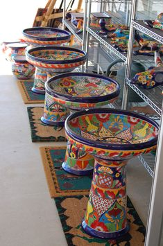 Tavalera Pottery Regalos de Borrego - I'll take all four!!