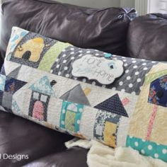 Home Sweet Home – Bench Pillow for Sewing