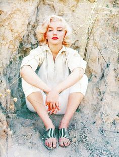 Marilyn Monroe photographed by Milton Greene, 1953