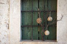 Idéias DIY :: Decorações de Natal com materiais naturais