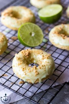 Key Lime Pie Dounuts