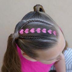 Hair Stenciling Tutorial by Erin Balogh – Hair Tutorials by Erin Balogh – Festival Easy Little Girl Hairstyles, Baby Girl Hairstyles, Princess Hairstyles, Braided Hairstyles, Kids Hairstyle, Coloured Hair Spray, Hair Stenciling, Childrens Hairstyles, Girl Hair Dos