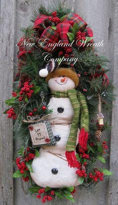 Christmas Wreath Holiday Wreath Christmas Swag by NewEnglandWreath, $149.00