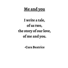 Me and you #poems #poet #poem #poetry #poetryofinstagram #read #reading #books #quotes #lovequotes #lovepoems #inlove #love #author #book #poetrybook #cara #carabeatrice #ingers #instagood #instacool http://quotags.net/ipost/1496174929262249251/?code=BTDeyvMhYUj