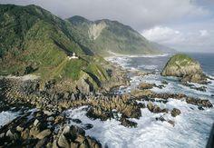 Faro Raper, Golfo de Penas. Chile