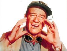 """[CAST] John Wayne (May 26, 1907 – June 11, 1979) as Sean Mercer in """"Hatari!"""", 1962, age55"""