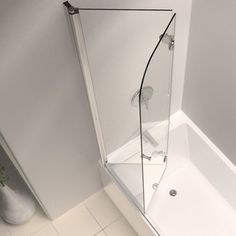 Features    Note  To minimize leakage  install shower head opposite of door  opening aimed at tiled walls  fixed shower panel or floor Small bathroom with soaker tub with glass shower enclosure  . Soaker Tub With Shower Surround. Home Design Ideas