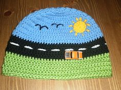 Broom Broom Boy's Beanie by Jacqui Delaney