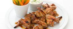 Karamelizovaná kuřecí křídla Chicken Wings, Yummy Food, Meat, Foods, Food Food, Food Items, Delicious Food, Buffalo Wings