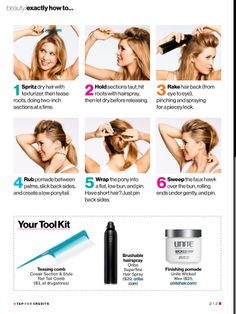 Faux hawk how to - fr glamour magazine