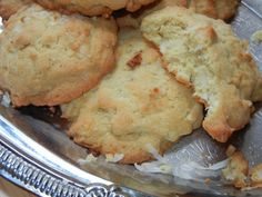 Coconut Almond Cookies - Will Cook For Smiles