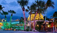 Christmas in Florida. Captiva Island Holiday Village: http://captivaislandinn.com/captiva-holiday-village/