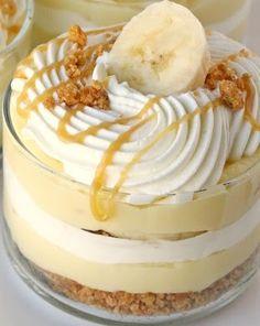 Banana Caramel Dessert!