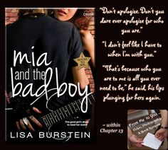 MIA AND THE BAD BOY by Lisa Burstein -- Read my #bookreview here…