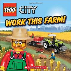 Work This Farm! (LEGO City): Michael Anthony Steele, Chuck Primeau: 9780545298575: Amazon.com: Books