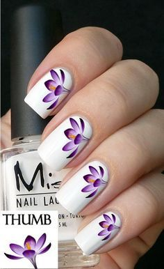 Uñas decoradas primavera 2016. Spring nails designs and color ideas. Gal...