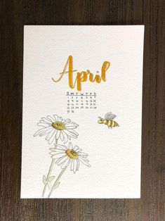 for more bullet journal inspiration decoracion letras April Bullet Journal, Bullet Journal Notebook, Bullet Journal Ideas Pages, Bullet Journal Spread, Bullet Journal Inspiration, Bullet Journal Yearly Calendar, Bullet Journal Months, Bullet Journal Banner, Free Printable Sticker