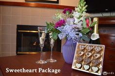 Valentines Day Sweetheart Package - $199.99 with 1 night stay in Executive Suite.  Gilroy Hotel Rooms, Hotels in Gilroy CA – Bestwesterngilroy...   BEST WESTERN PLUS Forest Park Inn- Fireplace suite Fireplace Suites, 1st Night, Forest Park, Best Western, Stay The Night, Hotels, Valentines, Rooms, Table Decorations