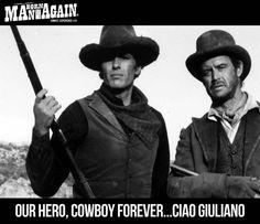 OUR HERO, COWBOY FOREVER....CIAO GIULIANO GIULIANO GEMMA 1938 - FOREVER