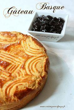 Gateau basque, recette de christophe felder