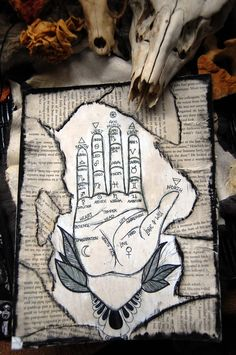 Palmistry / Sacred Spaces <3