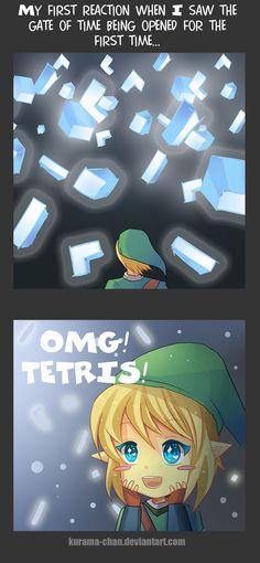 -- Zelda: Opening the gate -- by Kurama-chan.deviantart.com on @deviantART.... Hahaha