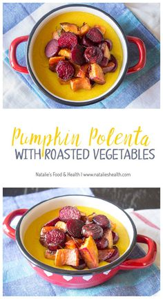Roasted Squash And Polenta Torta With Red Onion Marmalade Recipe ...