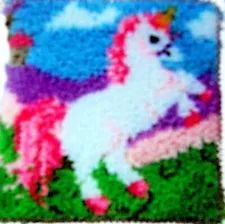 Latest Absolutely Free Latch Hook unicorn Tips Latch hook can be a fun, simple craft that lets you create photos and by simply knotting pieces of y Latch Hook Rug Kits, Unicorn Rooms, Rug Yarn, Holiday Break, Create Photo, Ms Gs, Rug Hooking, Wool Area Rugs, Hobbies And Crafts