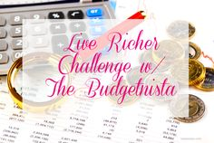 Live Richer Challenge with The Budgetnista - VeePeeJay