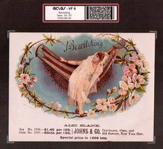 Bewitching   VF 6    Vintage Cigar Box Advertising Label    #3136.jpg