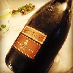 Sulmona (L'Aquila, Italy) Montenisa Franciacorta satèn. winegram.it share your #wine