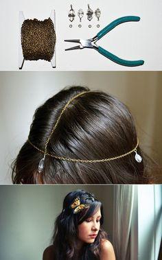 Bohemian Crystal Head Chain   47 Gorgeous Wedding HeadpieceIdeas