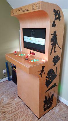 DIY modern-looking retro arcade (#QuickCrafter)