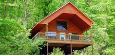 Treehouse Cabins in the Missouri Ozarks